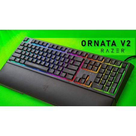 Razer Ornata V2, podsvietená herná klávesnica, USB, US
