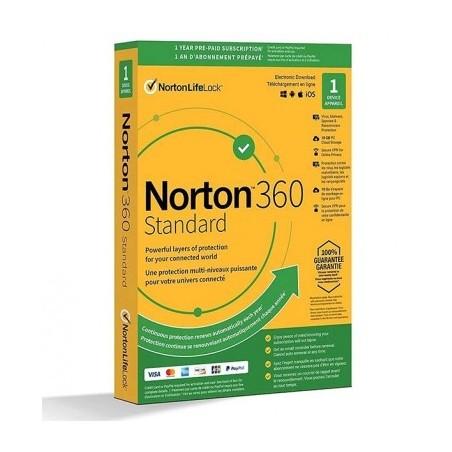 Norton Security 360 Standard, viacnásobná internetová ochrana
