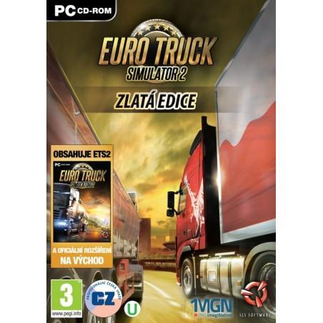 Euro Truck Simulator 2 Gold, PC DVD, originálna krabicová verzia