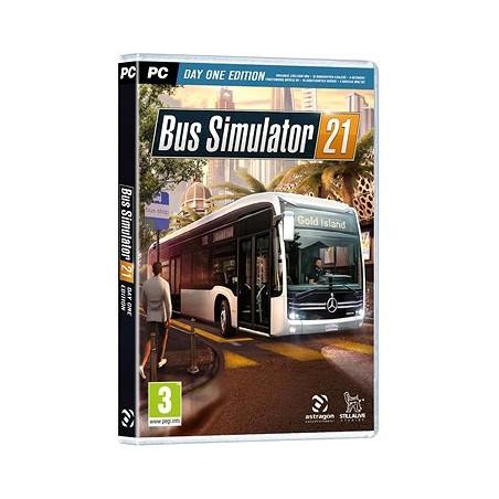 Bus Simulator 21: Day One Edition - PC, originálna krabicová verzia, zberateľská edícia