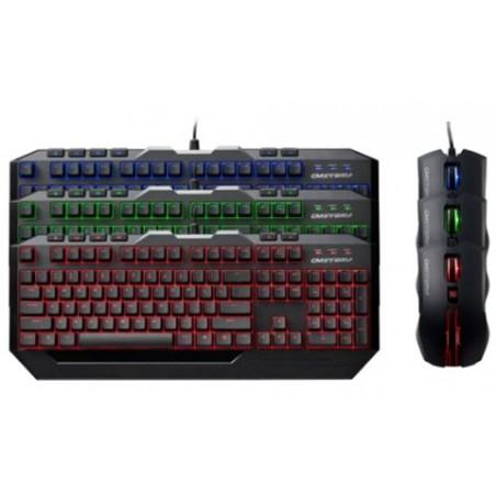 CoolerMaster Devastator III, hernej set klávesnica s myšou, SK, USB