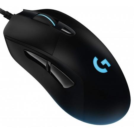Logitech G403 Hero, herná myš, 16000dpi, RGB, USB, čierna