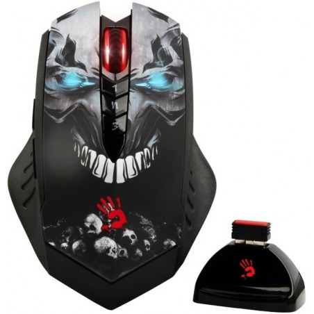 A4tech BLOODY R80 CORE 3, bezdrôtová herná myš, rozlíšenie až 3200dpi, čierna, USB